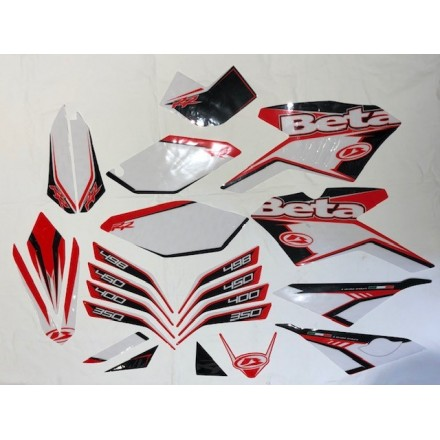 Kit adesivi Beta RR 4T 350-400-450-498 2010/2012