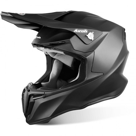 CASCO AIROH TWIST COLOR BLACK MATT