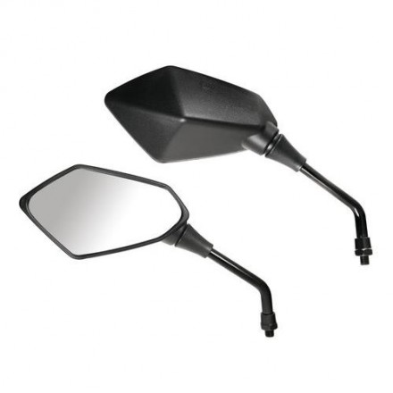 Specchi retrovisori moto (coppia) omologato M10 - Kaba, Lampa