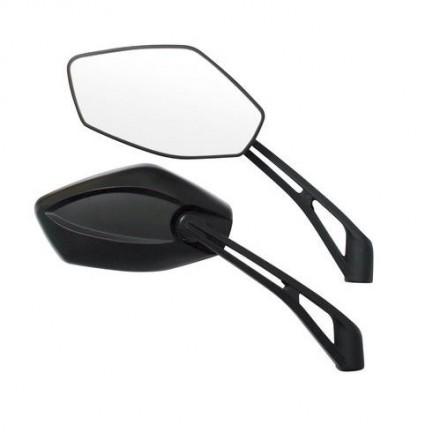 Specchi retrovisori moto (coppia) omologato M10 - Infinity, Lampa