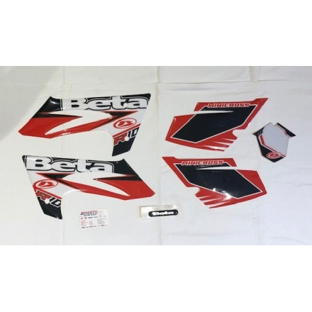 Kit adesivi Beta Minimoto R10 2012