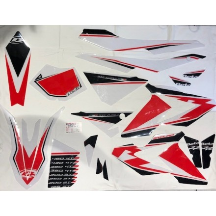 Kit adesivi enduro 2018 Beta RR 2T 125-250-300 4T 350-390-430-480 2019