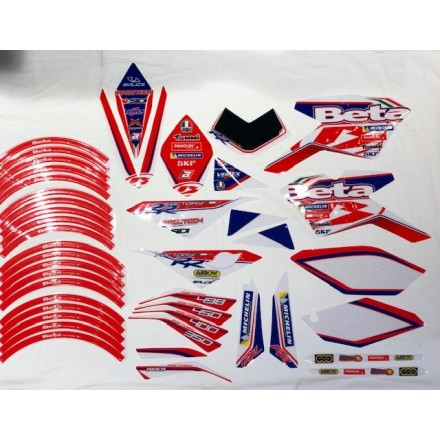 Kit adesivi Beta RR 4T Factory 350-400-450-498 2010/2012