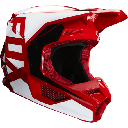 Casco cross FOX V1 Prix Flare Red