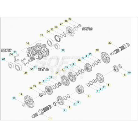 Beta RR 350/390/400/430/450/480/498/520 4T dal 2010 al 2020